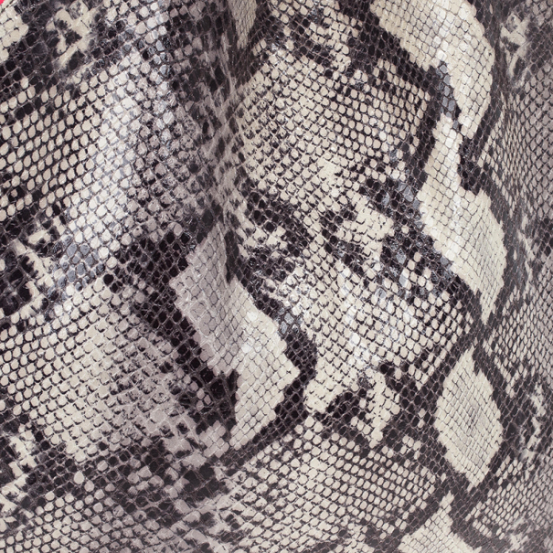 Stella McCartney Animal Chalk Falabella Faux Snakeskin Tote