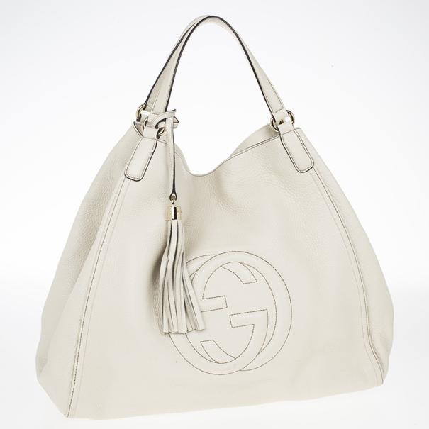 Gucci Soho Off-White Shoulder Bag