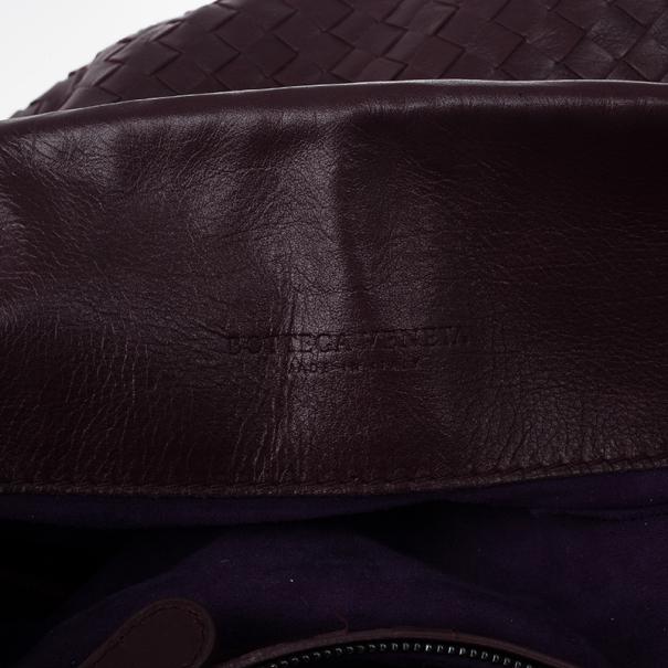 Bottega Veneta Corot Intrecciato Nappa Cross Body Bag