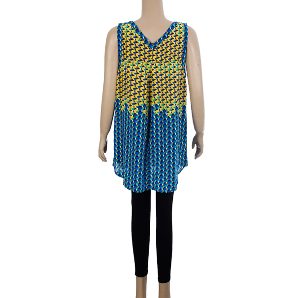 Marc by Marc Jacobs Yellow Paradox Print Top L