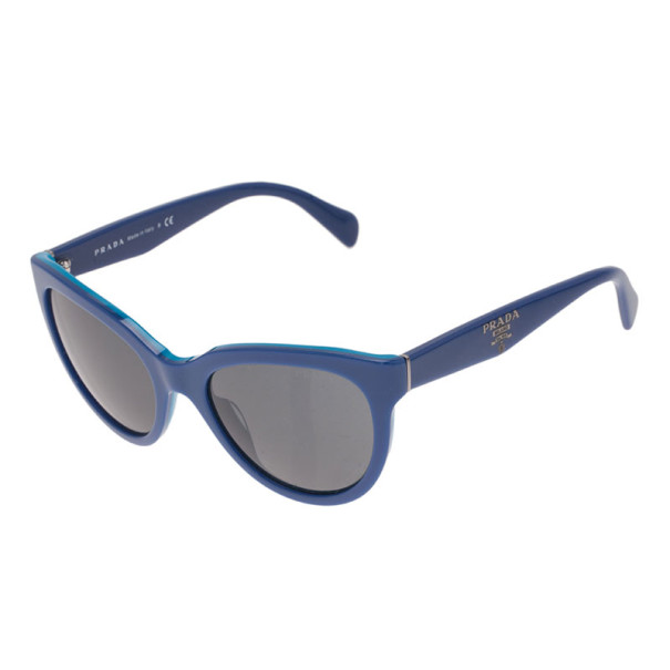 Prada Blue SPR05P Cat Eye Sunglasses
