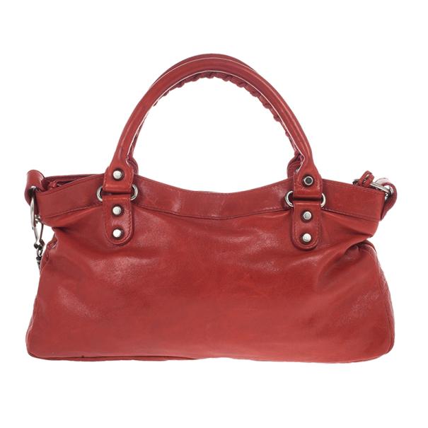 Balenciaga Red Classic First Bag