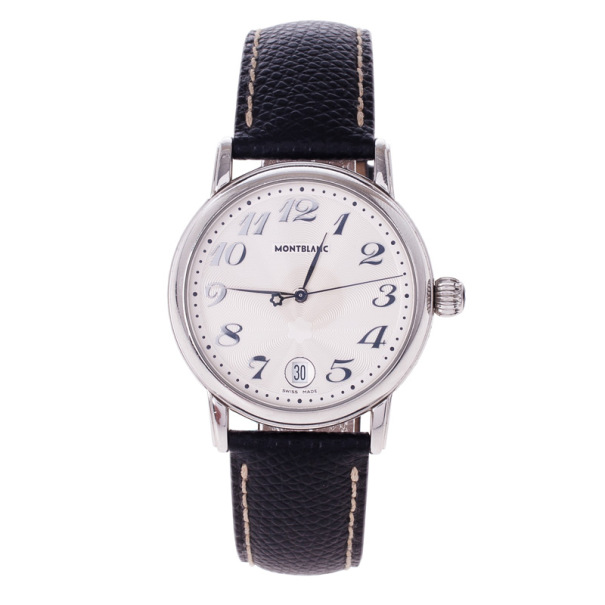 Montblanc White Stainless Steel Star Unisex Watch 36MM