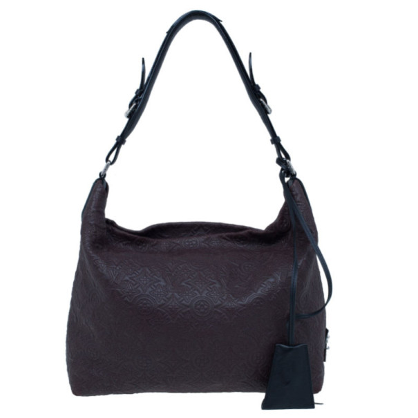 Louis Vuitton Brown Antheia Hobo GM