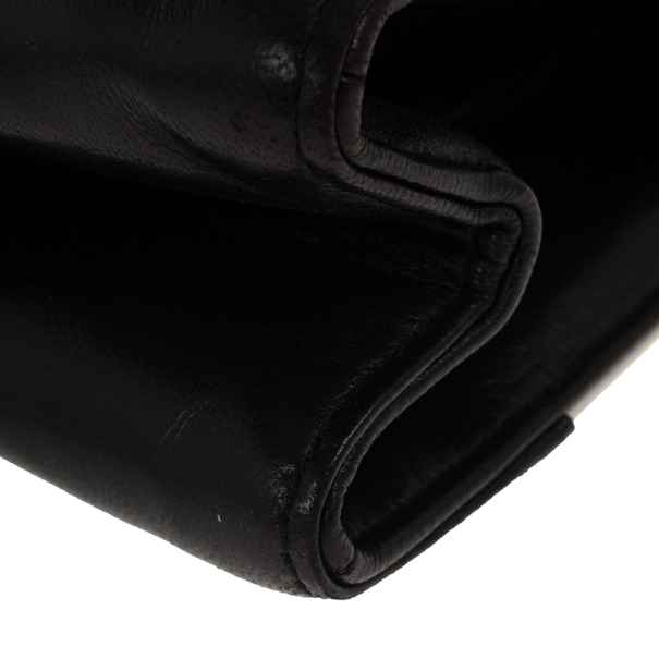 Chanel Black And White Envelope Shoulder Bag