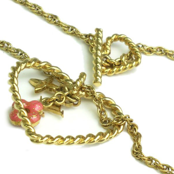 Louis Vuitton Sweet Monogram In My Heart Necklace