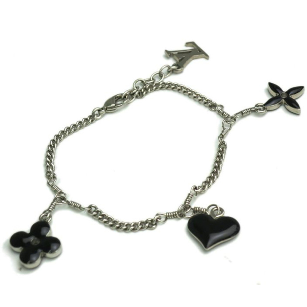 Louis Vuitton Sweet Monogram Black Bracelet
