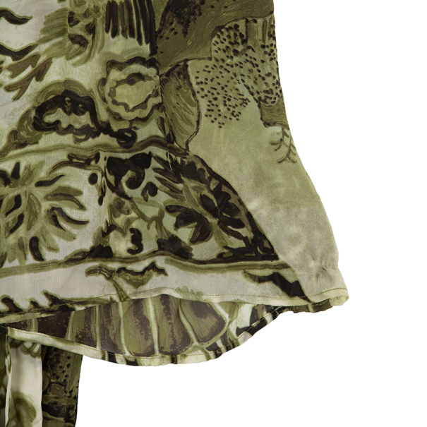 Roberto Cavalli Printed Skirt Set M