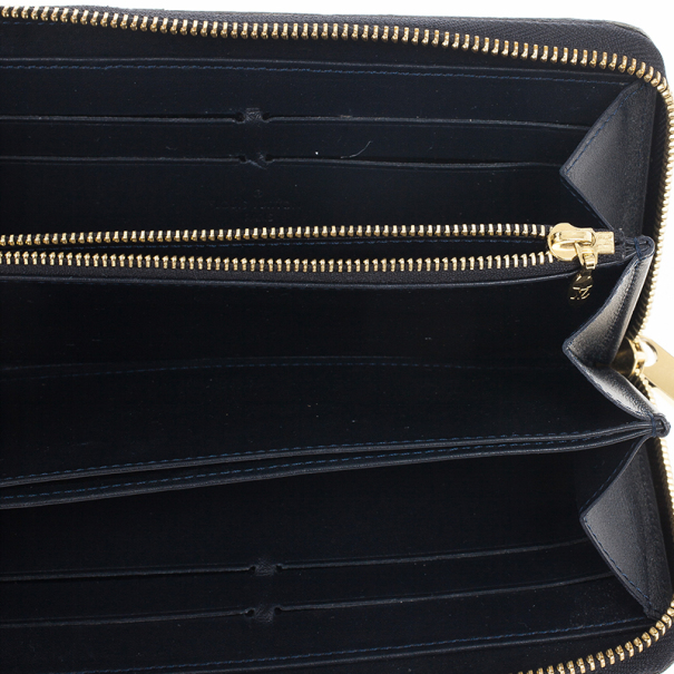 Louis Vuitton Vernis Monogram Zippy Wallet