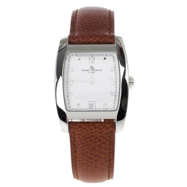 Baume & Mercier Stainless Steel Quartz Unisex Wristwatch 30 MM