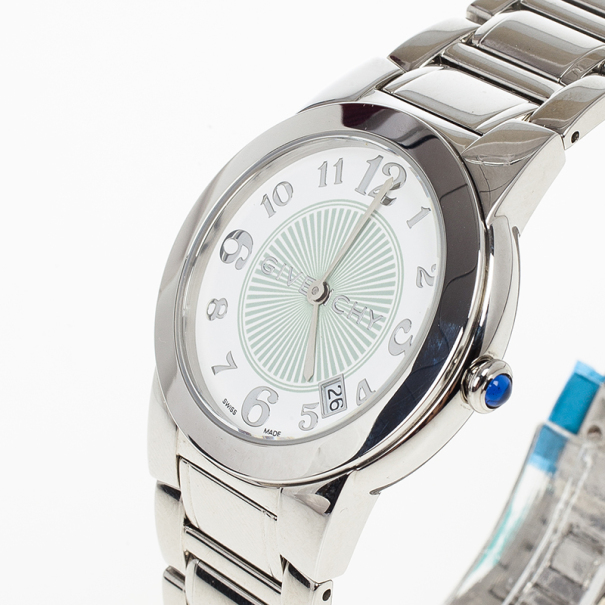 Givenchy White Stainless Steel Millesime  Women's Wristwatch 32MM
