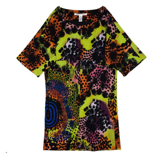 Diane Von Furstenberg Vintar Printed Jacket S