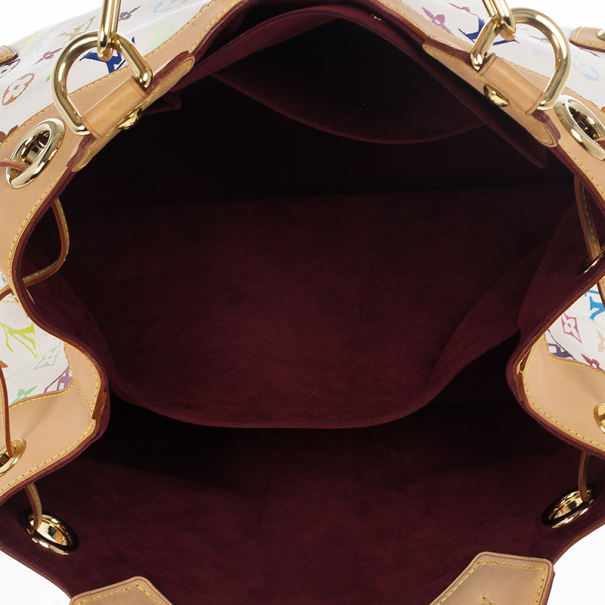 Louis Vuitton White Mulicolor Ursula Bag