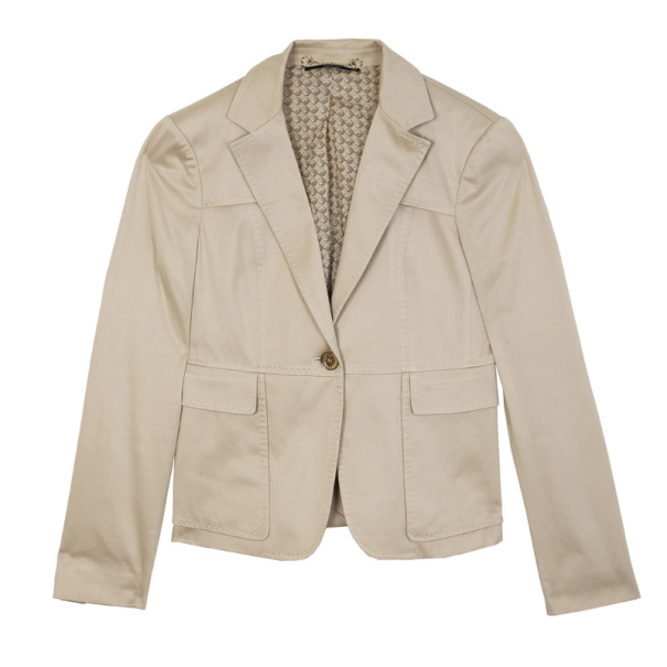 Gucci Single Breasted Jacket M