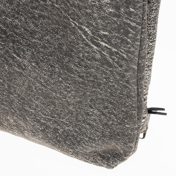Jimmy Choo Gray Bex Quilted Shoulder Bag