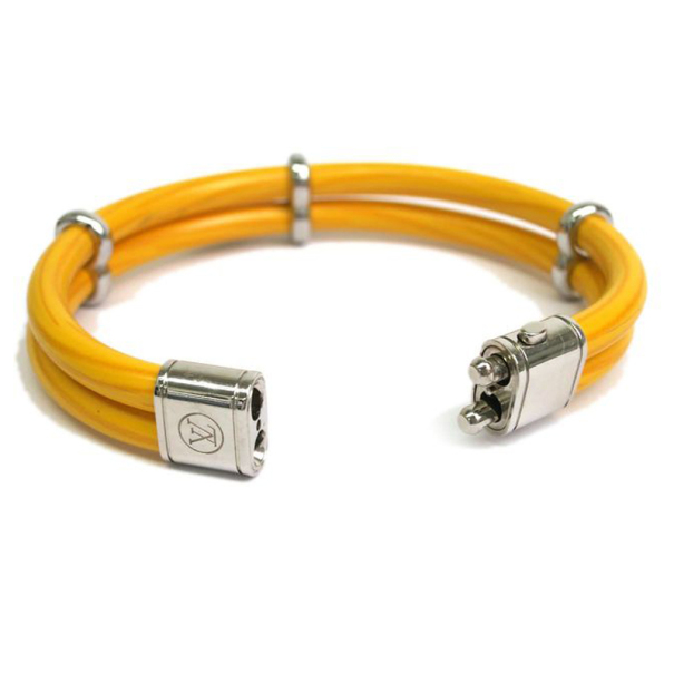 Louis Vuitton Citron Epi Keep It Twice Bracelet