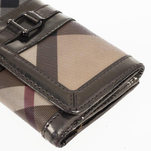 Burberry Nova Check Continental Wallet
