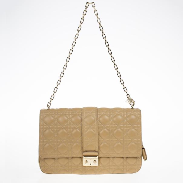 Dior Beige Miss Dior Large Bag