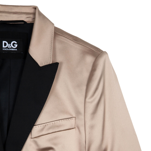 D and G Satin Tuxedo Jacket M