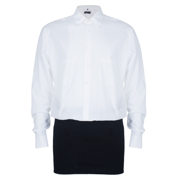 Jean Paul Gaultier Mens White Shirt S - Buy & Sell - LC