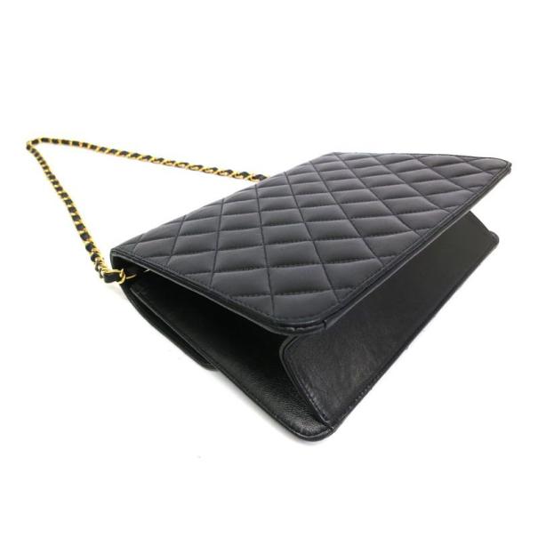 Chanel Black Lambskin Medium Classic Flap Bag