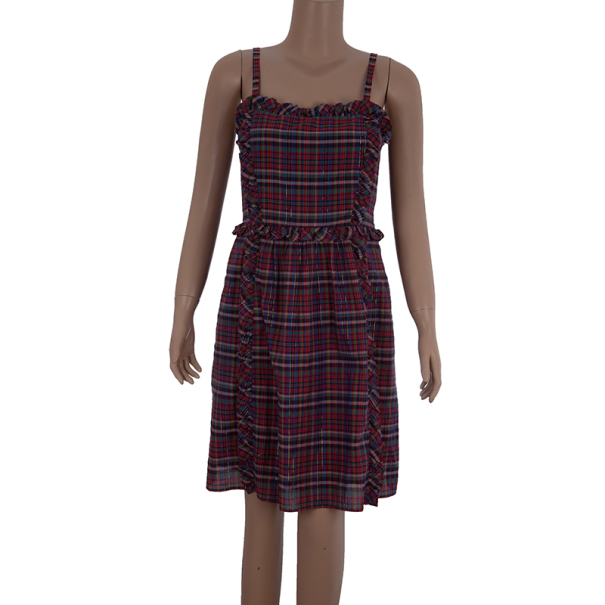 Marc by Marc Jacobs Plaid Dress M