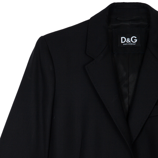 D and G Single Breasted Coat L