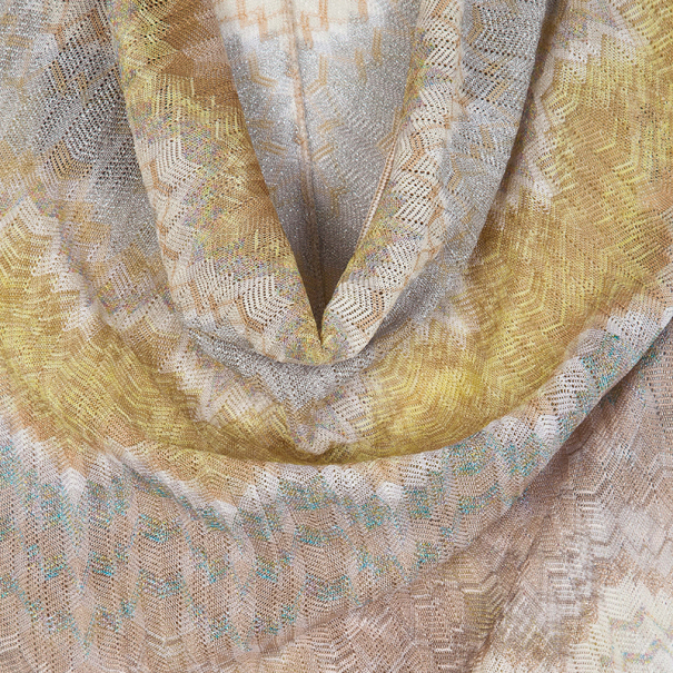 Missoni Multicolor Cowl Neck Dress S