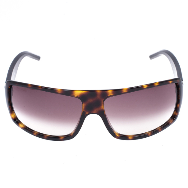 Dior Brown Black-Tie Rectangle Womens Sunglasses