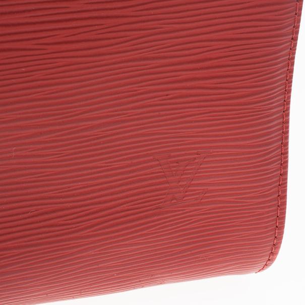 Louis Vuitton Red Epi Speedy 30