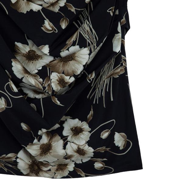 Dolce and Gabbana Mixed Print Stretch Dress M
