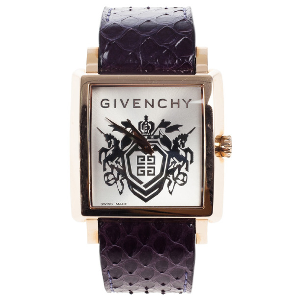 Givenchy Gold Plated Unisex Wristwatch 38 MM