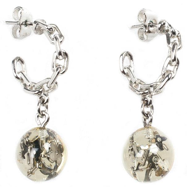 Louis Vuitton Bubbles Inclusion Earrings