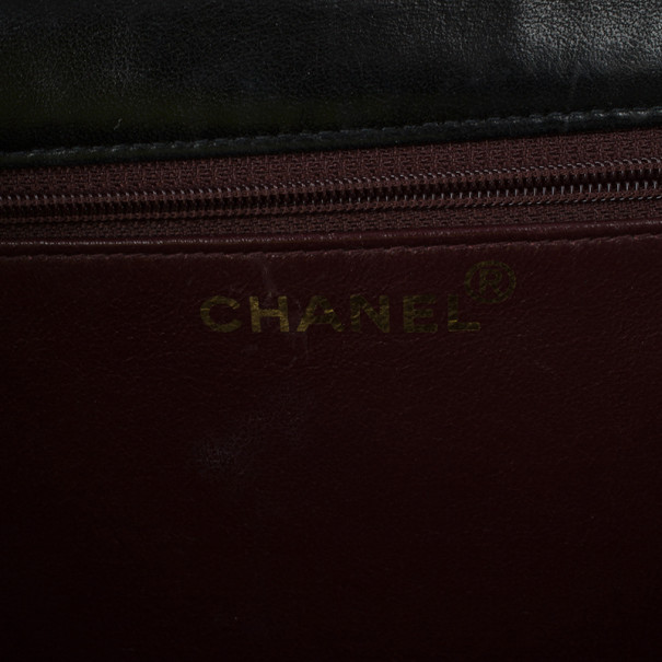 Chanel Black Matelasse Leather Small Shoulder Bag