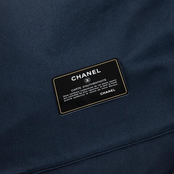 Chanel Denim Disc Tote