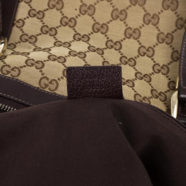 Gucci Monogram Medium Abbey Tote