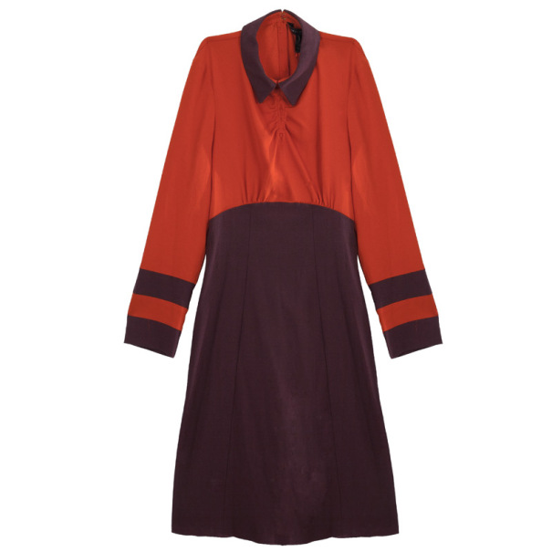 Marc by Marc Jacobs Color Block Anya Crepe Dress S