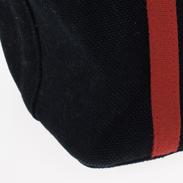Burberry Black Canvas Tote