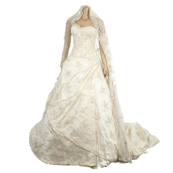 Zuhair Murad Haute Couture Lace Wedding Dress M