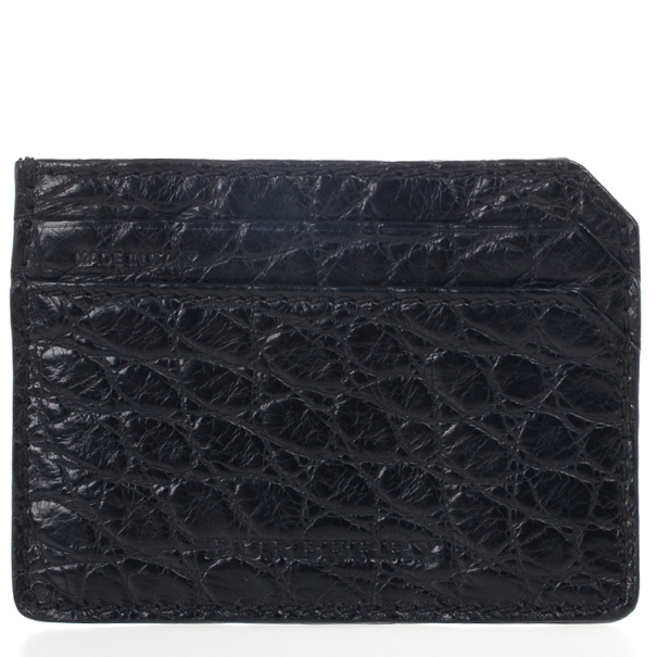 Burberry Custom Alligator Belly Skin Card Case