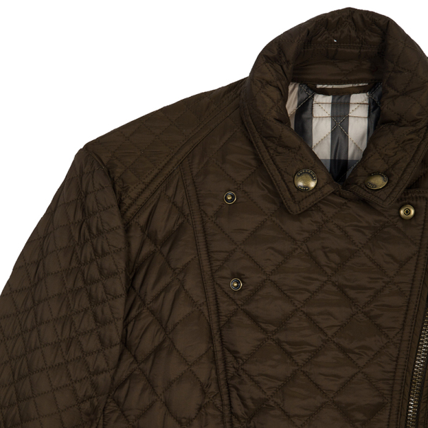 Burberry Brit Oakcliffe Quilted Jacket L
