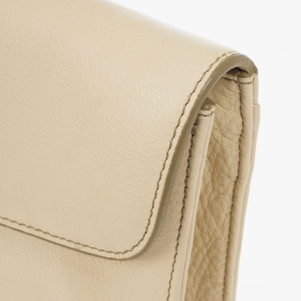Marc by Marc Jacobs Cream Bianca Clutch