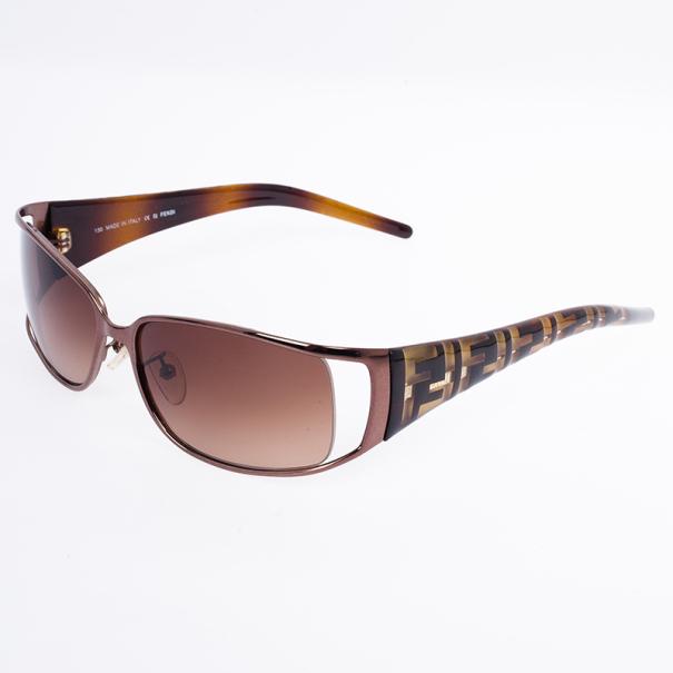 Fendi Zucca Temple Sunglasses