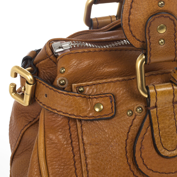 Chloe 'Paddington' Leather Satchel
