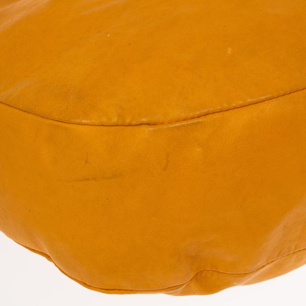 Jimmy Choo Orange Sky Solar Hobo