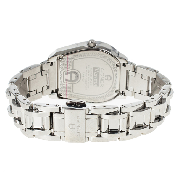 Aigner White Stainless Steel Verona Women's Wristwatch 33MM