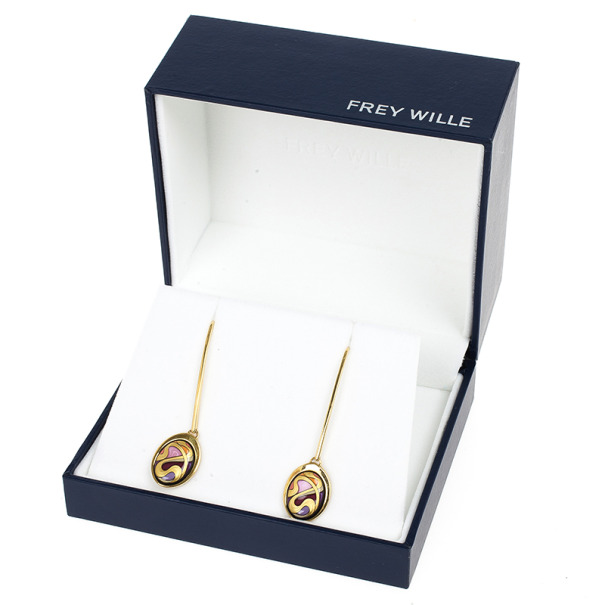 Frey Wille Pendant Earrings