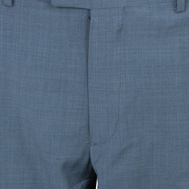 Emporio Armani Grey Formal Men's Trousers M
