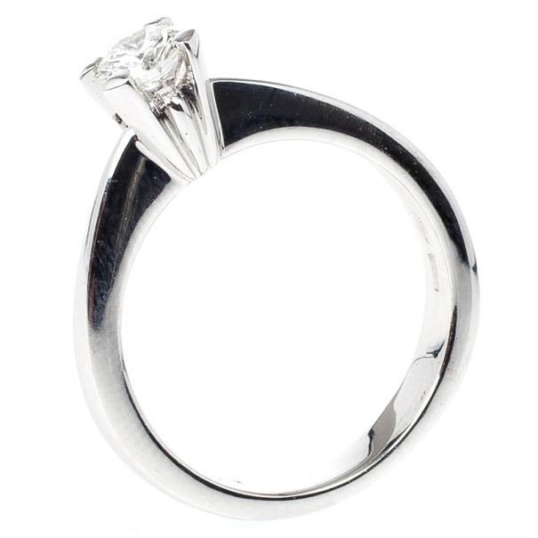 Damiani 0.37ct Diamond Solitaire Size 53