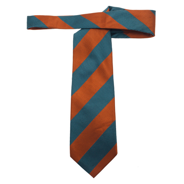 Valentino Two Tone Striped Tie